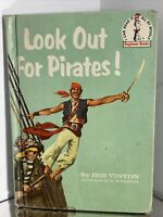 Look Out for Pirates! By Iris Vinton (Dr Seuss Book)  - 1961 HC/DJ