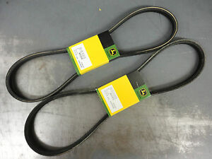 OEM JOHN DEERE Variator Belt Set M93045 M91470 RX63 RX73 RX75 RX95 SX75 SX95