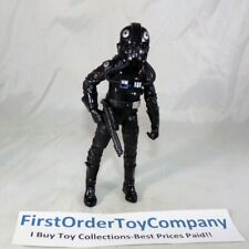"Star Wars Black Series 6"" Inch #05 Tie Fighter Pilot Loose Figure COMPLETE"