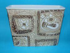 Royal Copenhagen pottery  vase Fajance ' Birds pattern ' 1st quality (7734)