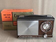 Vintage Concertona CS20 AM Radio -  'Internet' Brand Transistor - FAULTY