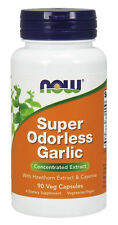 NOW Foods - Super Odorless Garlic - 90 Capsules