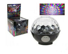 LED BLUETOOTH DISCO BALL PARTY LIGHT SPEAKER AND RADIO