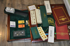 Great Gift - Franklin Mint Monopoly Complete Set w/ COA. Ship or Local Pickup