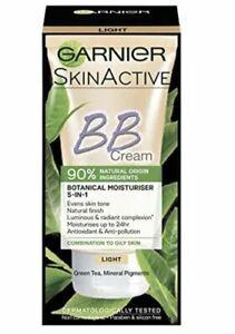 Garnier Skin Active BB Cream Combination to Oily Skin Light 50ml