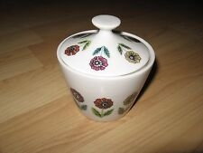 Nasco Fascination Sugar Bowl - Vintage Flower Japan Mid Century Atomic China
