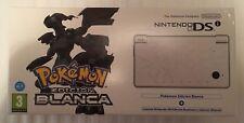 Consola Nintendo DSI Edición Pokémon Blanca NUEVA!!