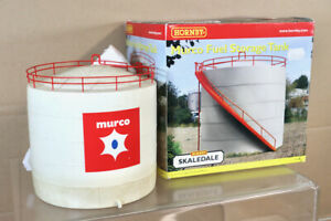HORNBY R9508 SKALEDALE MURCO FUEL STORAGE TANK for RAILWAY LAUOUT BOXED ny