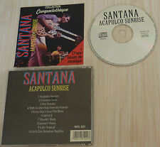 CD ALBUM SANTANA ACAPULCO SUNRISE 10 TITRES