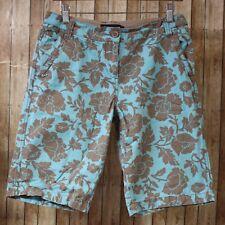 dc17b6b62c4e Rayón Floral Pantalones Cortos de mediana altura para De mujer | eBay