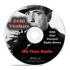 Bold Venture, 751 Old Time Radio Shows, Police Crime Dramas OTR mp3 DVD G20