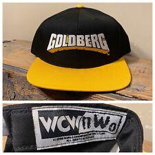 Vintage 1998 WCW nWo Bill Goldberg Snapback Cap Hat deadstock NOS 90s rare cap