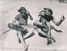 ÎLE DE BORNÉO c.1950 - Joueur de Gendang  Indonésie - Div 7744