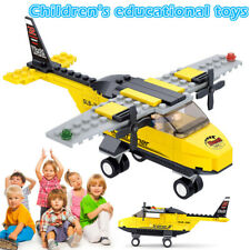 Kids Educational Building Blocks Toy Kit City Airplane DIY Figures Bricks Gifts