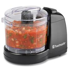 Toastmaster Electric Mini Food Chopper Processor Blender 1.5 Black NIB