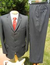 New listing Elegant Vintage 1960s Kuppenheimer Suit 41R 32x28 - Black & Charcoal Chalkstripe