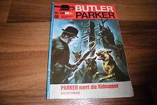Günter Dönges -- BUTLER PARKER  # 133  ...NARRT die KIDNAPPER