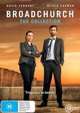 BROADCHURCH 1-3 (2014-2017)  COMPLETE Drama TV Season Series - NEW Au Reg4 DVD