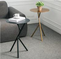 Nordic Gold simple oval mini coffee table sofa corner side table