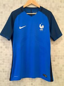 Maillot France 2016 Home FFF Vapor/AeroSwift/Joueur/Player STOCK PRO taille L