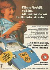 X9953 Auto radiocomandata REEL 45 - Pubblicità 1976 - Advertising