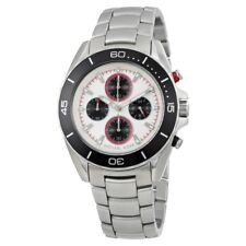 Michael Kors Men's Jetmaster MK8476 Silver Stainless-Steel Quartz Dress Watch