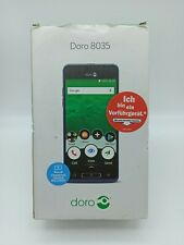 Doro 8035 Senioren Smartphone/Handy Metallic Blue Android 16GB
