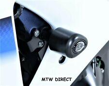 Suzuki GSX R1000 L1 2011 R&G Racing Aero No-Cut Crash Protectors CP0363BL Black