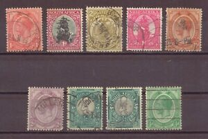 South Africa, King George V, Used, 1913 - 1926, OLD