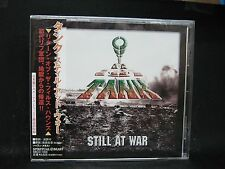 TANK Still At War + 2 JAPAN CD The Damned Weapon Warfare Praying Mantis Sweet