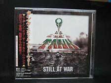 Tank Still At War + 2 Japan Cd The Damned Weapon Warfare Praying Mantis Sweet