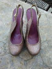 Madden Girl Sookiee Shoes SZ 7.5 multi Pumps  Heels Slingback