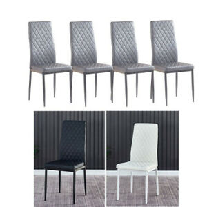 Set Of 4 Dining Chairs For Sale In Stock Ebay