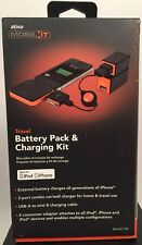 Ativa Mobil-IT FB-102 Battery Backup & Charging Kit & Case For iPod/iPhone NEW