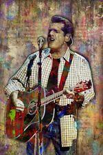 The Eagles Glenn Frey 12x18in Poster Glenn Frey Tribute Print Free Shipping Us