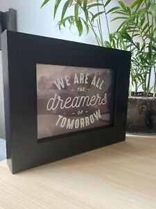 3D Inspirational Quote Frame