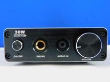 FeinTech AVS00100 Digital Mini HiFi Audio Verstärker Class-D 30W Stereo schwarz