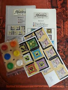 Alhambra Queenie 1 & 2 Expansions Magical Buildings and Medina