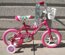 "NEW 12"" GIRLS BIKE PINK EVA TIRES TRAINING WHEELS 3 TO 5 YEARS OLD KIDS!"
