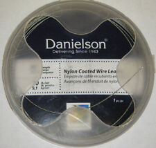 Danielson Steelon Nylon Coated Fishing Wire Leader SS Material  20lb 30' LDRWC20