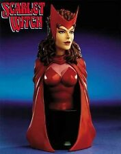 SCARLET WITCH MINI-BUST BY BOWEN DESIGNS, SCULPTED BY STEVE WEST