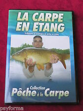 DVD De pêche a la Carpe / LA CARPE en etang / Comme neuf !!!