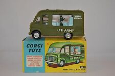 CORGI TOYS 359 Army Field Kitchen very near mint in box Superb