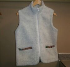 Orvis Vest Teddy Bear Texture Off White Color Size S