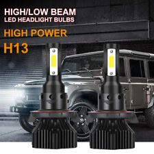 H13 9008 CREE LED Headlight Conversion Kit 1300W 195000LM HI/LOW Beam Bulb 6000K