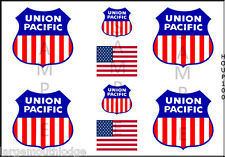 HO SCALE UNION PACIFIC CONTAINER MODEL BOX CAR TRUCK DECAL HOUP100