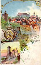 Lithographien mit dem Thema Künstlerkarte