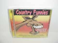 Country Funnies by Various Artists (CD, Mar-2001, CD Double Play/IRC)