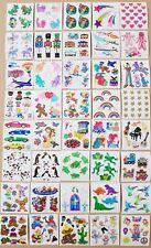 🌸💖Sandylion💖🌸 Sticker Designs 80er/90er 40 Glitzer Abrisse zum sammeln