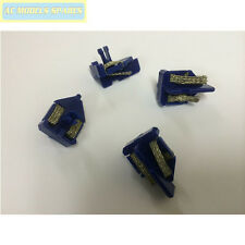 Scalextric Spare Guide Blades (x4) Blue